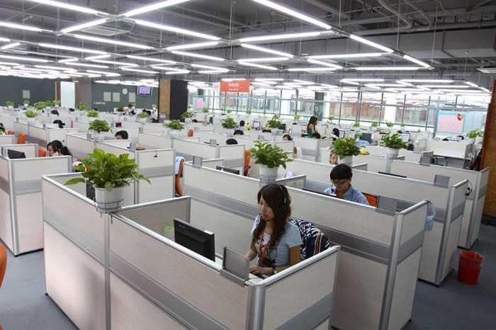 Опен Спейс Алибаба в Китае