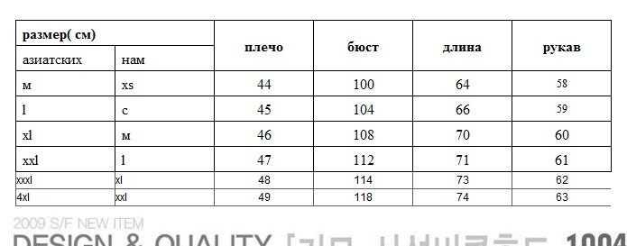 Китайские размеры одежды на русские на алиэкспресс женские