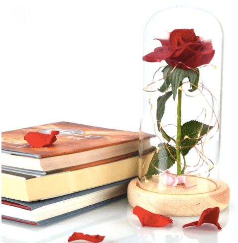 Необычная роза из сказки «Красавица и чудовище»