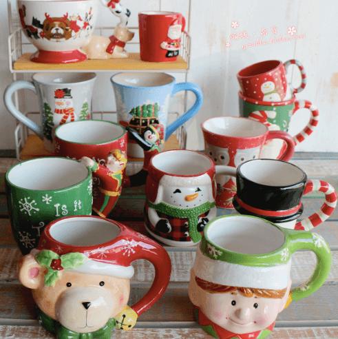 Рождественская кружка для горячего чая