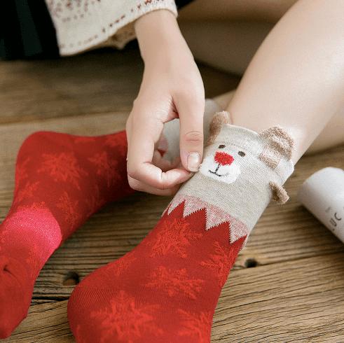 Классные рождественские носки