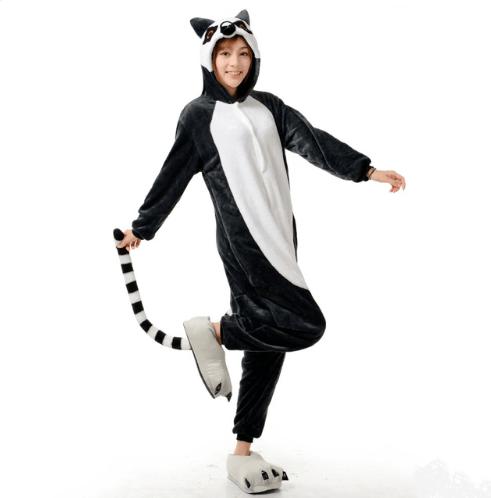 Заказать костюм-пижаму Лемура