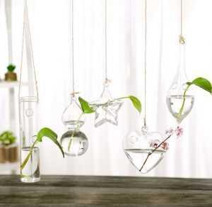 Подвесные вазы-горшки для домашнего декора