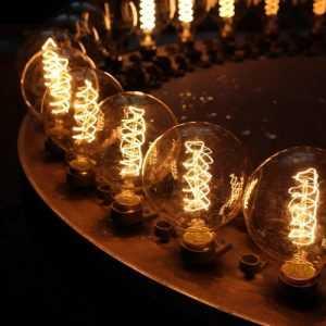 Купить винтажные лампы Эдисона