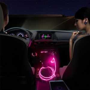 USB LED зарядка светящаяся в ночи