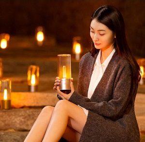 Умная портативная свеча от Xiaomiс использованием новейшей технологии Bluetooth (BLE)