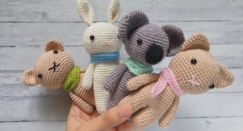 Вязание игрушек Amigurumi
